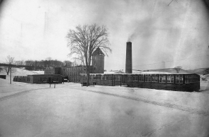 Peck's Upper Mill, c. late 1800s. Photo, courtesy of Berkshire Historical Society