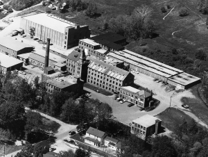 Wyandotte Mills, 1960. Photo, courtesy of Berkshire Historical Society
