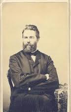 Herman Melville, photo taken at Pittsfield photo gallery, courtesy of Berkshire Athenaeum